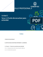 PPT Unidad 02 Tema 03 2020 06 Desarrollo Profesional II (2352)