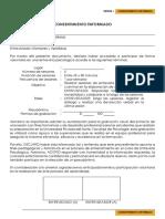 Formato 1. Consentimiento Informado