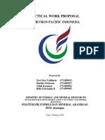 PROPOSAL PRAKTIK KERJA LAPANGAN PT. CHEVRON PACIFIC INDONESIA PEM AKAIMGAS