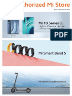 Xiaomi Product Brochure or Catalog for July-August 2020
