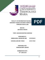 DECISION MATRIX (AIMISHAHRUL & HAFIZZULAINI