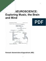 Music Neuroscience by Dr Romesh Senewiratne-Alagaratnam