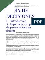 UNIDAD 4 Toma de Decisiones I.I.