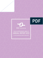 Tung Lok Restaurants 2000 Ltd Annual Report 2019