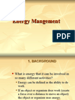 Energy Mangement and Conservation