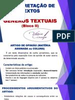 -APOSTILA- Aula 07 - Gêneros Textuais II