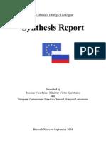 EU-Russia Energy Dialogue 2001