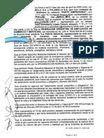 Acuerdo Falabella - Empleados de Comercio