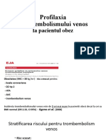 2. Profilaxia trombembolismului venos