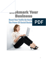 Bookmark Your Business - Boost your traffic by harnessing the power of social bookmarking