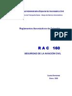 RAC  160 - Seguridad de la Aviación Civil.pdf