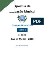 Apostila de Educação Musical 1