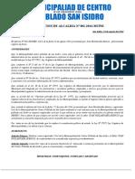 RESOLUCION DE ALCALDIA Nº 002 Y CONDECORACIONES.docx
