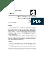 La Evaluación Multifuente Feedback 360º
