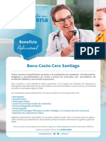 Folleto BONO COSTO CERO JULIO 2018