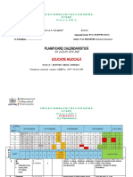 Cls. a VIII-a PLANIF. Ed.MUZ. 2019  -2020