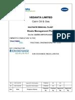 SRP-Waste Management  Plan-G225IEX-SRP-R-PLN-003
