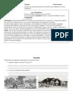 Historia geografía y ciencias sociales  Los Tehuelches