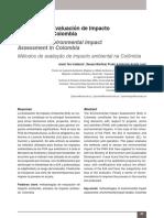 Metodo Evaluacion Impacto Ambiental T.9