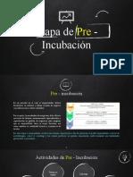Clase Modelo etapa de pre - incubación