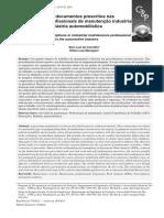 A pertinência dos documentos prescritos nas atividades dos profissionais de manutenção industrial o caso de uma indústria automobilística