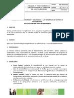 3.3 y 3.5 VERSION 2 Maunal- Procedimiento de monitoreo y seguimiento a los programas de gestión de sostenibilidad.doc