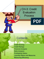 Chapter III Credit Evaluation Process