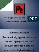 Shotcrete and Guniting