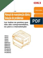 OKI C911 - Manutenção Diária - Solução Problemas.pdf