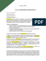 apuntes Prueba CHILE XV-XVIII