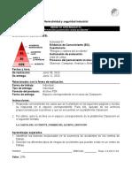 U3EC1 Cadena del accidente y analisis de riesgos