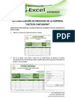 AUTOMATIZACIÓN DE PROCESOS DE LA EMPRESA