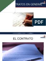 CONTRATO EN GENERAL - CONTRATACION DEL ESTADO (Semana 3) examen