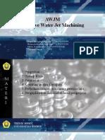 AWJM (Abrasive Water Jet Machining).pptx