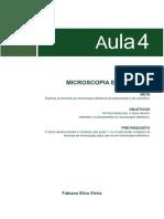 09071620092012Introducao a Microscopia Aula 4
