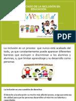 Inclusión en el campo educativo