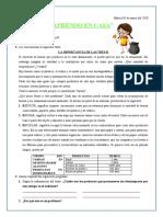 TAREA DE CIENCIA Y TECNOLOGÍA - MARTES 05-05-2020