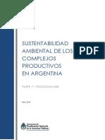 Sustentabilidad Ambiental de Los Complejos Productivos de La Argentina - 7ma Parte - Patagonia Sur