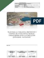 Plan de  Vigilancia prevención y Control del COVID19_San Rafael SIG