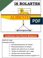 Acidentes com Ponte rolantes