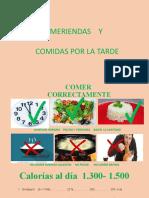 FRUTAS Y MERIENDAS MAYO