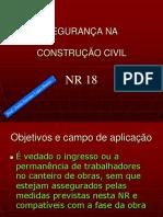 APRESENTAÇÃO DE PARTES DA CONSTRUÇÃO - Estudo da NR18 - Parte 1