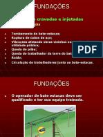APRESENTAÇÃO DE PARTES DA CONSTRUÇÃO - Estudo da NR18 - Parte 10