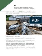Dicas sobrevivência em caso de catástrofe