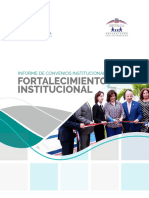 INFORME FORTALECIMIENTO INSTITUCIONAL