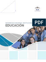 Informe Convenio Educación