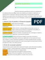 Desarrolo de actividades clase 2 La gramática según marta Marín