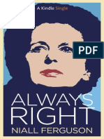 9. Niall Ferguson - Always Right
