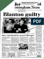 Thomas Blanton guilty verdict