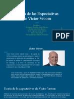 Teoría de las Expectativas de Víctor Vroom